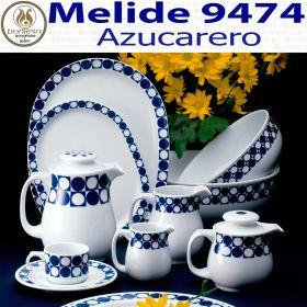 Azucarero Melide 9474 Porcelanas Pontesa Santa Clara Vajilla Hostelería profesional