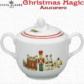 Azucarero Vista Alegre CHRISTMAS MAGIC