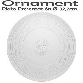 Bajo Plato Presentación 32,7cm Ø Vista Alegre Ornaments Domo