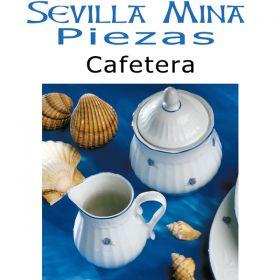 Cafetera Vajilla Santa Clara Sevilla Mina