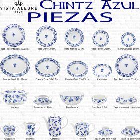 CHINTZ Vista Alegre Platos, fuentes, Sopera, Ensaladera, piezas sueltas Vajilla