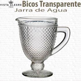 Jarra de Agua Cristal Bicos - Picos Transparente Vista Alegre Atlantis