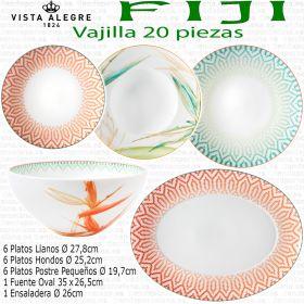 Vajilla FIJI Vista Alegre Porcelana