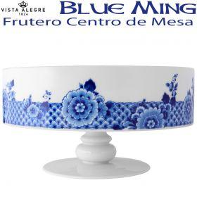 Centro de Mesa / Frutero con Pie Vista Alegre BLUE MING