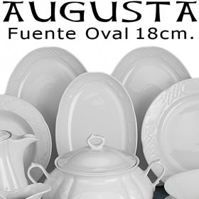Fuente Ovalada 18cm Augusta Santa Clara Pontesa