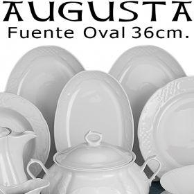 Vajilla moderna Augusta Santa Clara Fuente Oval 28 cm.