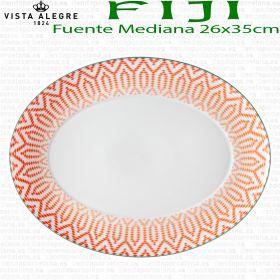 FIJI Vista Alegre Fuente Mediana 35x26cm