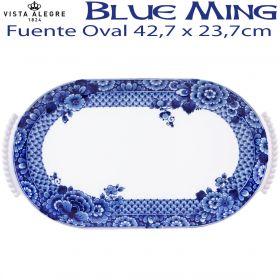 Fuente Oval 42,7x23,7cm Vista Alegre BLUE MING