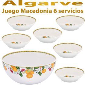 Juego Macedonia 6 servicios (7 piezas) Vista Alegre ALGARVE