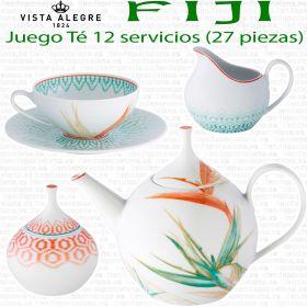 FIJI Vista Alegre Juego Té 12 servicios (27 piezas)
