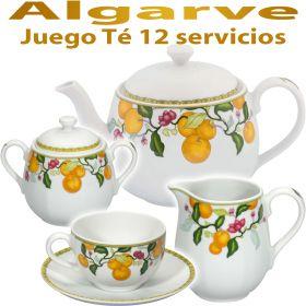 Juego Té 12 servicios (27 piezas) Vista Alegre ALGARVE