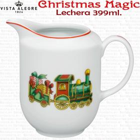 Lechera decoracion Navidad Vista Alegre Christmas Magic
