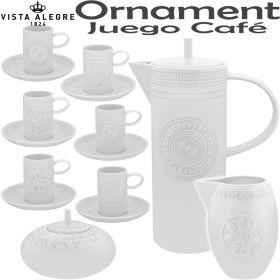 Juego Café 12 servic. (27 piezas) Vista Alegre ORNAMENT