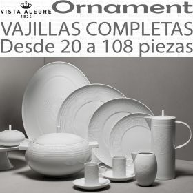 Vista Alegre Ornament vajillas completas de 20 a 108 piezas