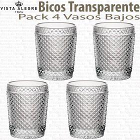 Vista Alegre Bicos - Picos pack 4 unidades Vasos Bajos