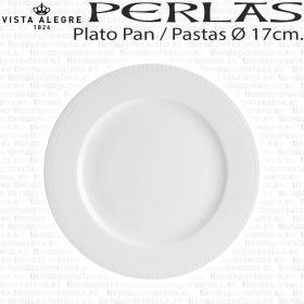 Plato Pan / Pastas Perla Vista Alegre Ø 17cm. Hogar / Hostelería