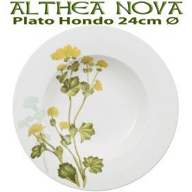 Plato Hondo 24cm Ø Villeroy Boch ALTHEA NOVA Flores