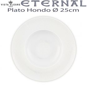 ETERNAL Vista Alegre Plato Hondo 25cm Ø