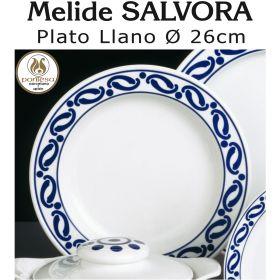 Plato Llano Melide SALVORA 26cm Ø Pontesa / Santa Clara