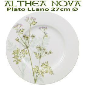 Plato Llano 27cm Ø Villeroy Boch ALTHEA NOVA Flores