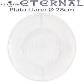 ETERNAL Vista Alegre Plato Llano 28cm Ø
