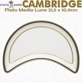 Plato Media Luna 21,5 x 10,9cm Vista Alegre CAMBRIDGE