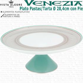 Plato Pastas con Pie Grande Ø 28,4cm. Vista Alegre VENEZIA