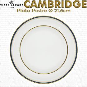 Plato Postre 21,6cm Ø Vista Alegre CAMBRIDGE