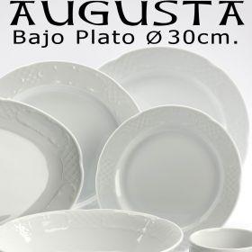 Plato Presentación Llano 30 cm. Ø Augusta Pontesa / Santa Clara