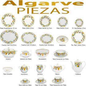 Reponer piezas sueltas Vajilla Algarve Vista Alegre
