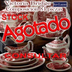 Vajilla completa San Claudio Victoria Bridge stock agotado temporalmente