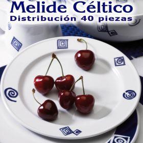 Vajilla 40 piezas Pontesa Santa Clara Melide Céltico