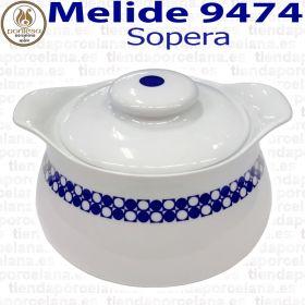 Sopera Melide 9474 Porcelanas Pontesa