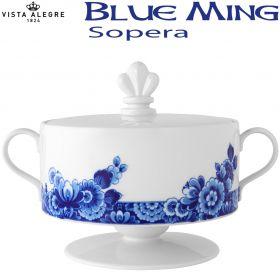 Sopera con Pie Vista Alegre BLUE MING