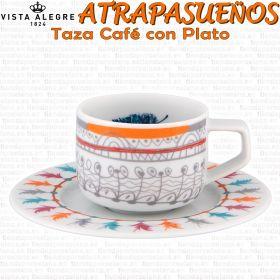 Vista Alegre Atrapasueños Tazas Café con Plato