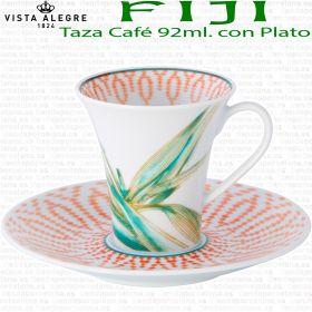 Tazas Café con Plato FIJI Vista Alegre