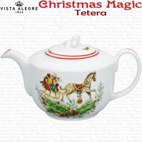 Decoracion Navidad Tetera Christmas Magic Vista Alegre