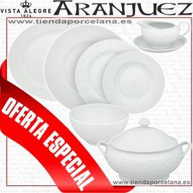 Vajilla Aranjuez Vista Alegre 57 piezas barata