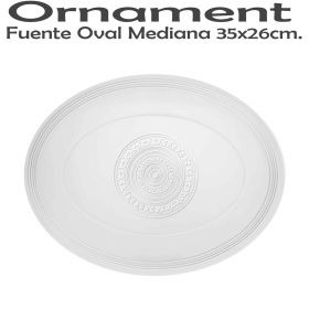 Fuente Oval Mediana 35x26cm Vista Alegre Ornament Domo