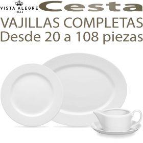 Vajillas Completas desde 20 a 108 piezas Vista Alegre CESTA