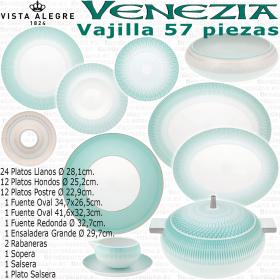 VENEZIA Vajilla completa 56-57 piezas Vista Alegre