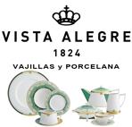 Vajillas Vista Alegre Fábrica de Porcelanas Cristal y Vidrio