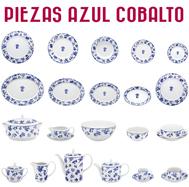Platos y otras Piezas Decoración Azul Cobalto