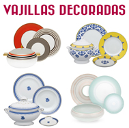 Vajillas Decoradas