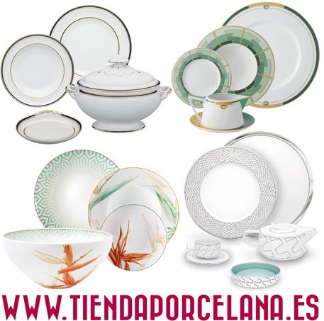 Vajilla Porcelana, Cubertería y Cristalerías
