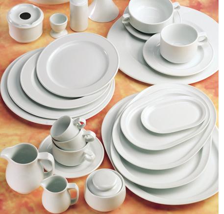 Logo Vajillas Pontesa Santa Clara servicio mesa hogar hosteleria Melide Blanco uso diario