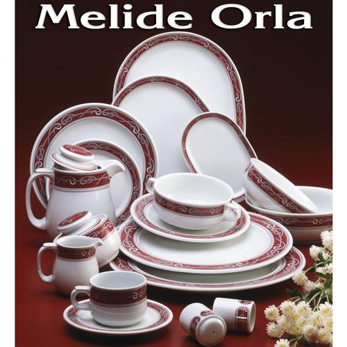 Vajillas Pontesa Santa Clara Porcelana Melide Orla servicios de mesa menaje Hogar y Hostelería