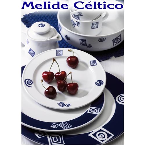 Vajillas Pontesa Santa Clara Porcelana Melide Celtico servicios de mesa menaje Hogar y Hostelería