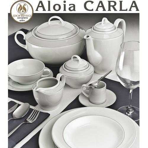 Vajillas Pontesa Santa Clara Aloia Carla servicios de mesa menaje Hogar