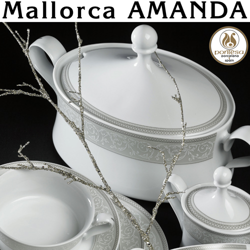 Vajillas Santa Clara Porcelana Mallorca Amanda